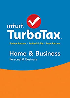 TurboTax Home & Business 2015 Federal + State Taxes + Fed Efile Tax Preparation Software - PC/MacDisc Twister Parent