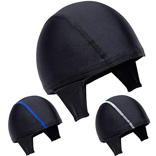 Koyes Wrestling Hair Cap Suitable All Headgear for BJJ, MMA Grappling, Jiu Jistu, Adjustable for Ear Guard, One Size Fits All - Bonus Mouthguard Included !