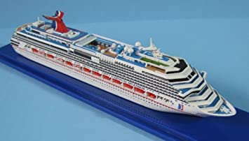Amazoncom CARNIVAL SPLENDOR Cruise Ship Model In Scale - Toy cruise ships for sale