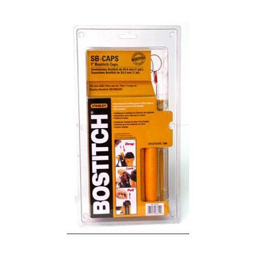 STANLEY BOSTITCH CAPPAK-5M 1 -Inch Caps And Staples (Pack of 5000) by BOSTITCH