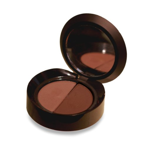 Damone Roberts Minx Eyebrow Powder Duo By Hollywood's Eyebrow King- Long Lasting, Highly Pigmented Brow Powder For Perfectly Shaped Brows - Natural Colors, Cruelty Free Formula- Dark Brown]()