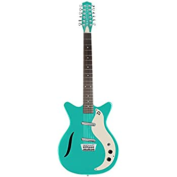 danelectro 59 vintage 12 string electric guitar aqua musical instruments. Black Bedroom Furniture Sets. Home Design Ideas