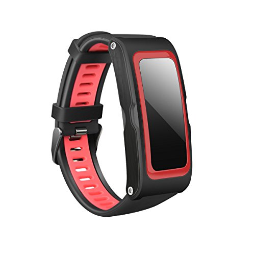 - MDMMBB Smart Bracelet GPS Track Heart Rate Movement Multiple Modes air Pressure Temperature Altitude Two-Color Strap Waterproof