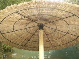 ANTAS JARDIN - Sombrilla Brezo Jardin Para Playa Y Piscina, Diámetro de 2 metros: Amazon.es: Jardín