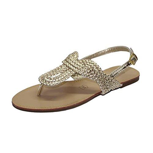 STEKOST - Zapatos con correa de tobillo Mujer dorado