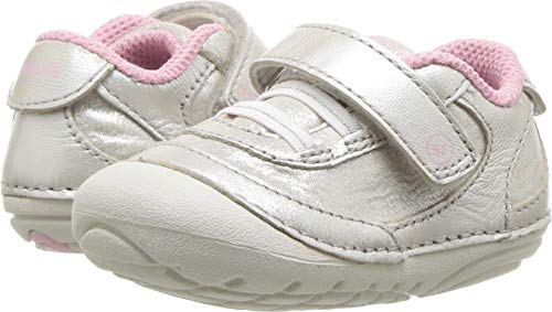 (Stride Rite Girls' Soft Motion Jazzy Sneaker, Champagne 4.5 M US Toddler)