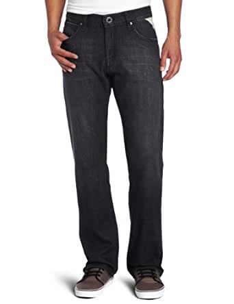 Volcom Men's Enowen Jean, Warner Black, 28