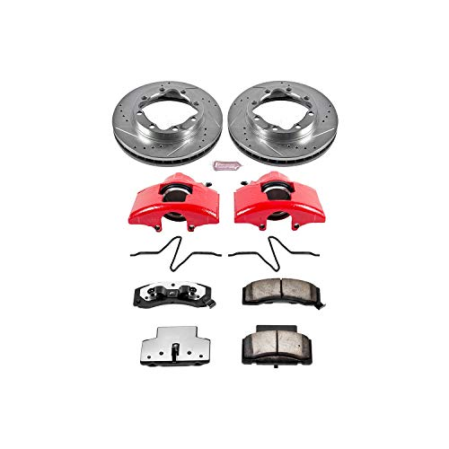 - Power Stop KC1992-36 Z36 Extreme Performance Truck & Tow 1-Click Brake Kit with Calipers