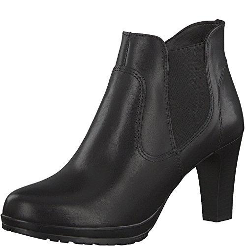 Tamaris Damenschuhe 1-1-25096-29 Damen Stiefel, Boots, Damen Stiefeletten, Herbstschuhe & Winterschuhe für modebewusste Frau Black