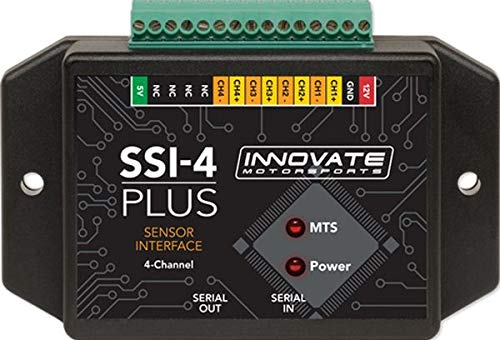 Innovate Motorsports SSI-4 Plus: 4 Channel Sensor Interface - 3914