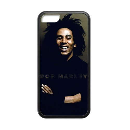 iPhone 5c Case, [bob marley] iPhone 5c Case Custom Durable Case Cover for iPhone5c TPU case (Laser Technology)