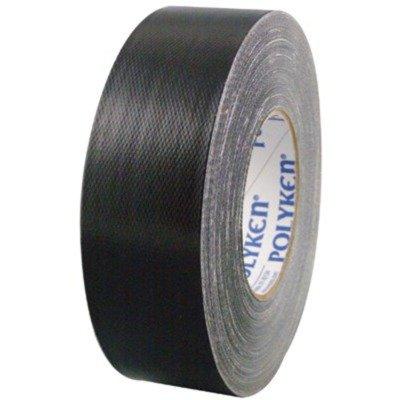 POLYKEN 573-681374 48ミリメートルX 55M核グレードダクトテープ - ブラック B00462A2YM