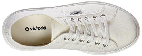 Femme Victoria Lona Baskets Blanc 20 blanco x74Tw7q
