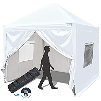 Amazon Com Quictent Privacy 8x8 Ez Pop Up Canopy Tent