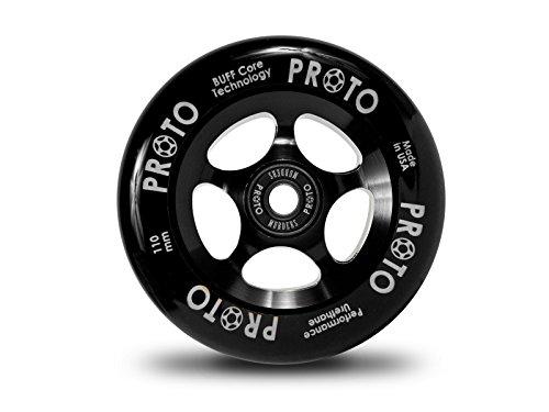 Proto Slider Wheel 110mm Black/Black by Proto