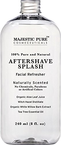 majestic-pure-aftershave-splash-with-organic-aloe-witch-hazel-white-willow-and-tea-tree-8-fluid-ounc
