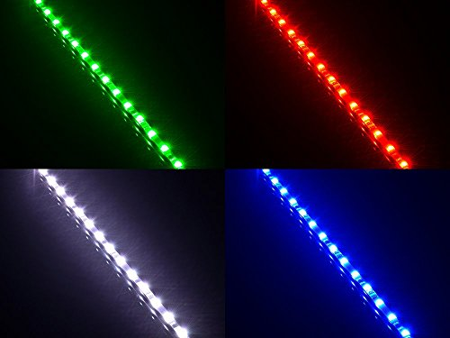 ATTAV-RGB-Magnetic-LED-Light-Strip-Full-Kit-for-PC-Computer-Case-Fixed-by-Powerful-Magnet-Multi-Function-Remote-Control-Color-Changing-12-Inch-18-LEDsIncluded-2-LED-Strip