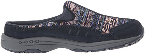 Easy Spirit Women's Traveltime280 Mule Navy/Navy Multi Suede cxpWo4