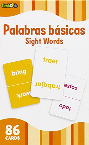 Sight Words (Flash Kids Spanish Flash Cards) 86 Cards (Flash Kids Flash Cards) (Kids Easter Cards compare prices)
