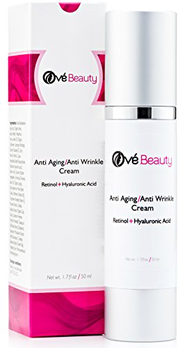 Retinol Face Cream With Both Retinol And Hyaluronic Acid! Best Anti Aging...
