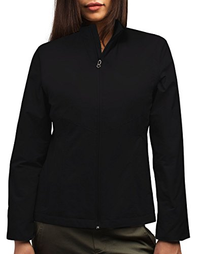 SCOTTeVEST Jacket - Travel Clothing, Outerwear for Women, Jackets for Women (BLK, M)