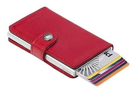 huge discount 56be9 af94e Secrid Women Mini Wallet Genuine Leather RFID Safe Card Case