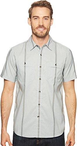 Royal Robbins Men's Vista Dry Shirt, Light Pelican, Medium