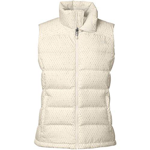 The North Face Nuptse 2 Vest Womens Gardenia White Ditsy Print XL (North Face White Vest)