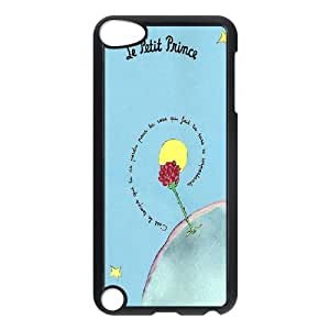 Customize Cell Phone Case Ipod 5 Case Cover Black Cartoon The Little Prince 12QW4688500