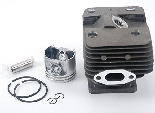 HIFROM(TM) Replace Cylinder Piston 40MM Fits for Stihl Brush Cutter Fs250 FS250R FS200 FS200R FS120, Reaplce 4134 020 (40mm Piston)