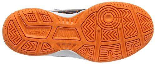 Asics Gel-upcourt Gs - Zapatillas de voleibol Unisex adulto Azul (Navy/Black/Hot Orange 5090)
