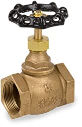 "Smith-cooper International 4101 Series Bronze Globe Valve, Inline, 1"" Npt Female, Non-potable Water Use Only"