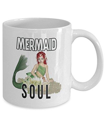 Mermaid Soul Gift Mug Love Mermaids White Coffee Tea Cup