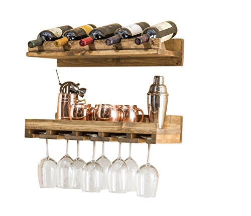 Rustic Luxe Small Tiered Wine Rack (Set of 2) (2 Ft. / 24 ()