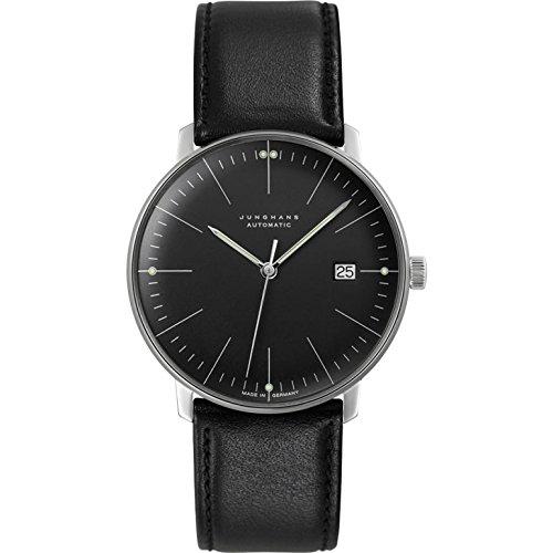 Junghans Max Bill - Automático - Reloj, color negro: Junghans: Amazon.es: Relojes