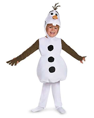 [Disguise Olaf Toddler Classic Costume, Small (2T)] (Olaf Boys Costumes)