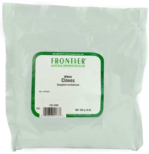 Frontier Natural Products Whole Cloves -- 16 oz - 2 pc