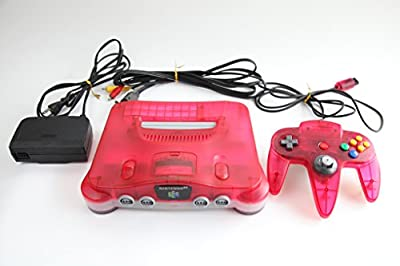 Nintendo 64 System - Video Game Console - Clear Red Limited