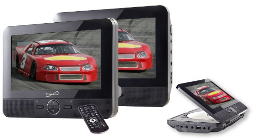 Supersonic SC198 Dual Screen DVD Player (Supersonic 7 Dvd Portable)