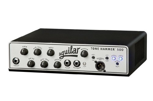 Aguilar Tone Hammer 500-Watt Bass Amplifier Head by Aguilar