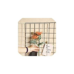 Fashion-LN 2 Head Artificial Real Touch Cloth Crab Claw Chrysanthemum Home Decoration Fake Flower,Orange 72