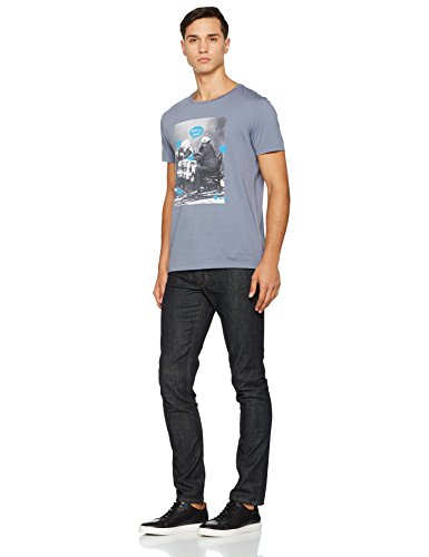 Blu dark Slim Jeans Uomo Blue Casual 408 Boss wxUgzz