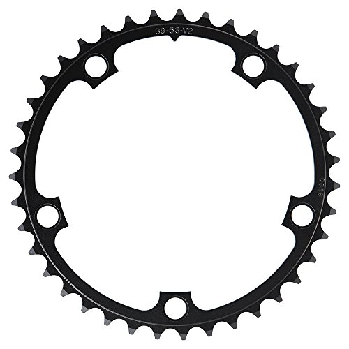 - SRAM 130mm 39T CHAINRING BLACK FOR RED/FORCE/RIVAL/APEX (53-39, 48-39)