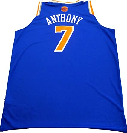 new arrival 69bea c9db8 Carmelo Anthony Usigned Swingman New York Knicks Jersey at ...