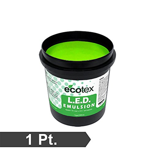 Ecotex L.E.D. - Textile Pure Photopolymer Screen Printing Emulsion (1 Pint)
