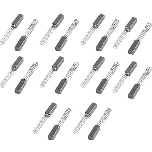 - Rannb 20pcs 11mm x 4mm x 4mm Electric Motor Carbon Brushes for Power tools and Electric motors