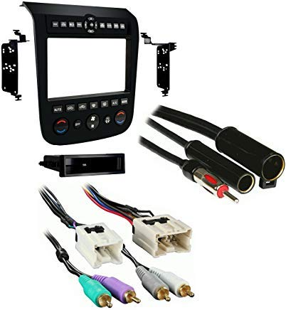 Metra 99-7612B Single/Double DIN Stereo Installation Dash Kit for 2003-2007 Nissan Murano with Antenna Adapter & Wiring Harness(with Bose )