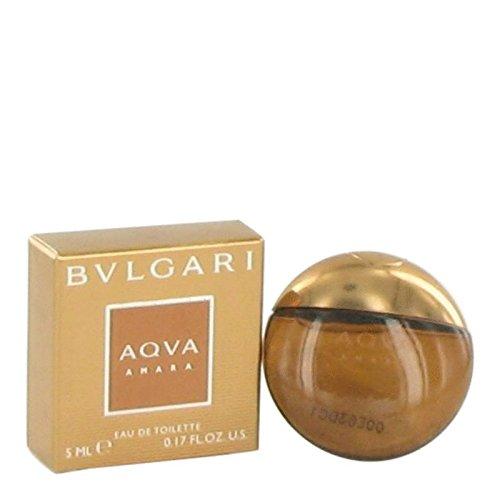 Price comparison product image Bvlgari Aqua Amara by Bvlgari Mini Edt .17 oz for Men - 100% Authentic