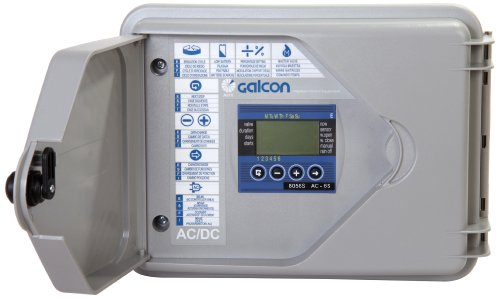 - Galcon 8056S AC-6S 6-Station Indoor Irrigation or Outdoor Controller-Seconds Operation