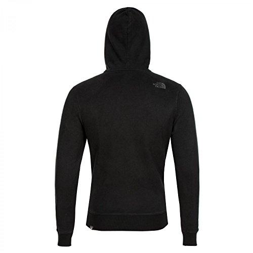 Avec Full Zip Gate The Face Ouverte Sweatshirt Open Noir Capuche Molleton North wTIR8RqZ